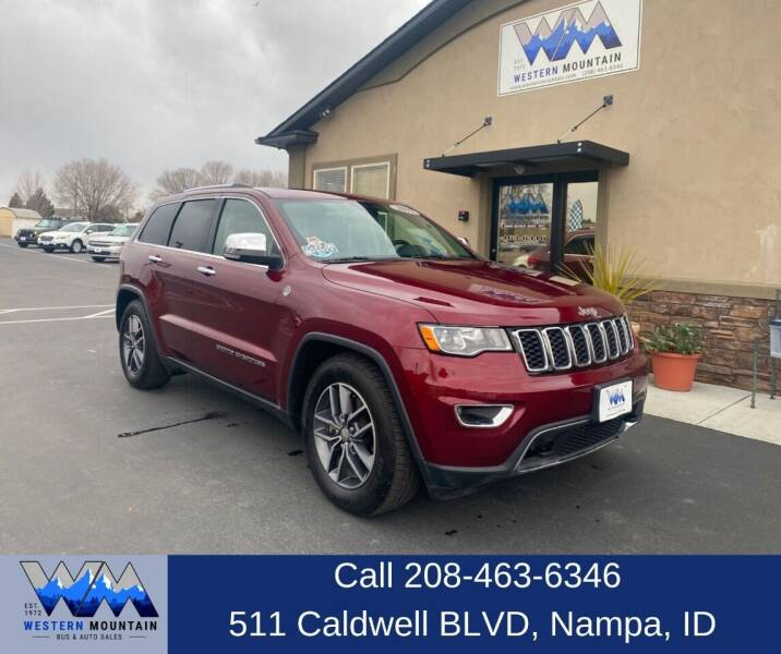 2017 Jeep Grand Cherokee for sale at Western Mountain Bus & Auto Sales in Nampa ID