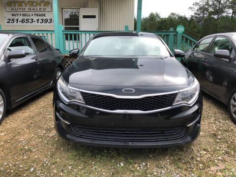 2016 Kia Optima for sale at Stevens Auto Sales in Theodore AL