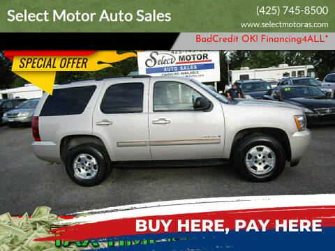 2007 Chevrolet Tahoe for sale at Select Motor Auto Sales in Lynnwood WA