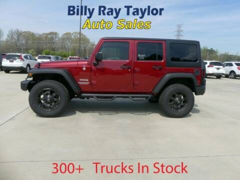 2013 Jeep Wrangler Unlimited for sale at Billy Ray Taylor Auto Sales in Cullman AL