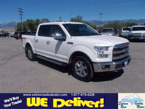 2016 Ford F-150 for sale at QUALITY MOTORS in Salmon ID
