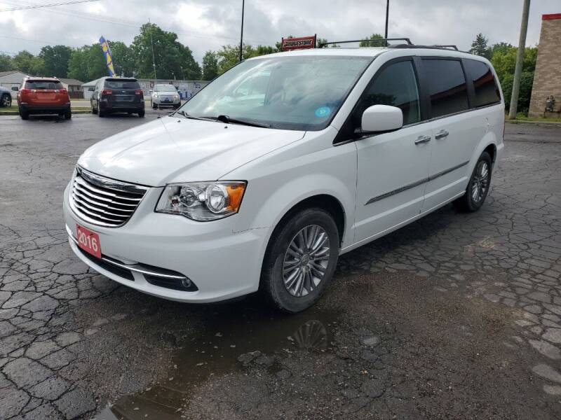 2016 Chrysler Town and Country for sale at Drive Motor Sales in Ionia MI