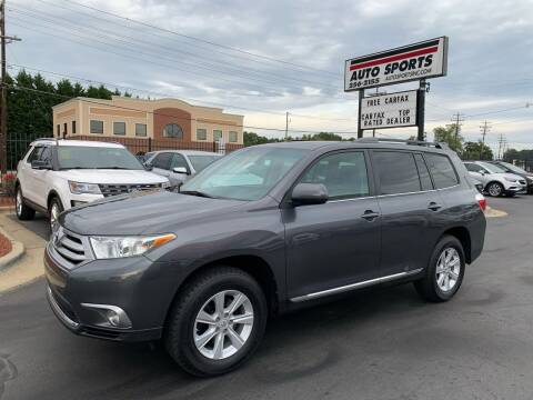 2011 Toyota Highlander for sale at Auto Sports in Hickory NC