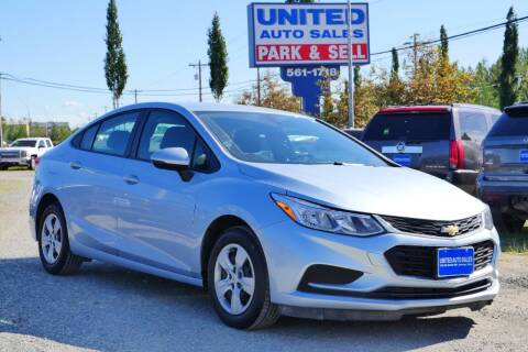 2018 Chevrolet Cruze for sale at United Auto Sales in Anchorage AK