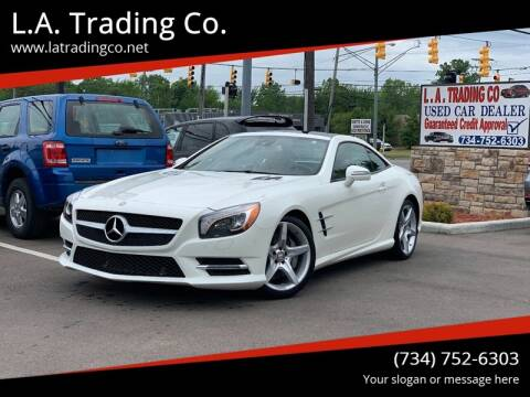 2013 Mercedes-Benz SL-Class for sale at L.A. Trading Co. in Woodhaven MI