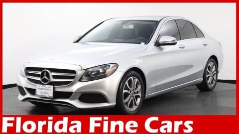 2017 Mercedes-Benz C-Class for sale at Florida Fine Cars - West Palm Beach in West Palm Beach FL