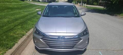 2020 Hyundai Elantra for sale at IMPORT AUTO SOLUTIONS, INC. in Greensboro NC