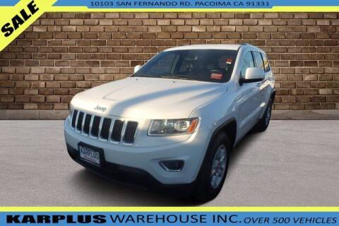 2014 Jeep Grand Cherokee for sale at Karplus Warehouse in Pacoima CA