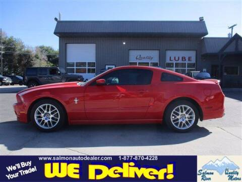2014 Ford Mustang for sale at QUALITY MOTORS in Salmon ID