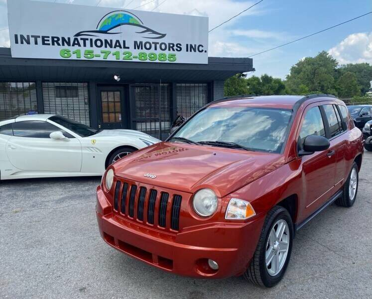 2008 Jeep Compass for sale at International Motors & Service INC in Nashville TN