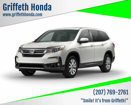 2019 Honda Pilot for sale at Griffeth Honda - Pre Owned in Presque Isle ME