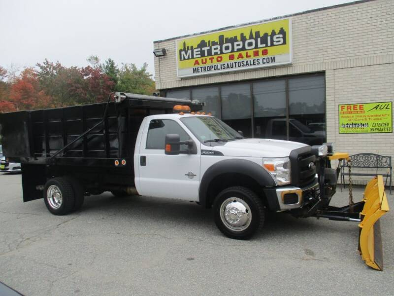 2012 Ford F-550 Super Duty for sale at Metropolis Auto Sales in Pelham NH