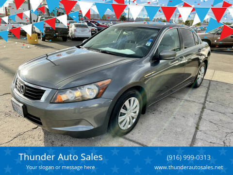 2009 Honda Accord for sale at Thunder Auto Sales in Sacramento CA