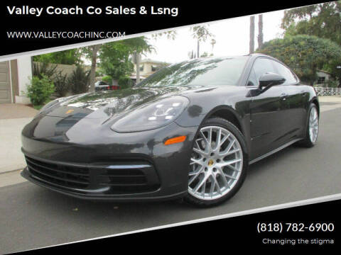 2017 Porsche Panamera for sale at Valley Coach Co Sales & Lsng in Van Nuys CA