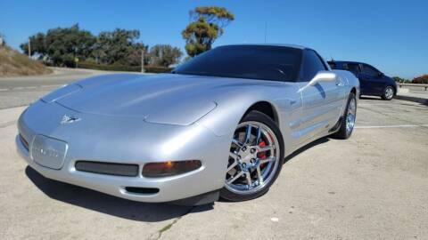 2003 Chevrolet Corvette for sale at L.A. Vice Motors in San Pedro CA