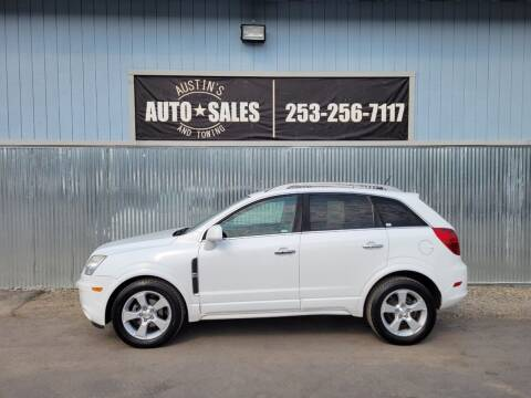 2013 Chevrolet Captiva Sport for sale at Austin's Auto Sales in Edgewood WA