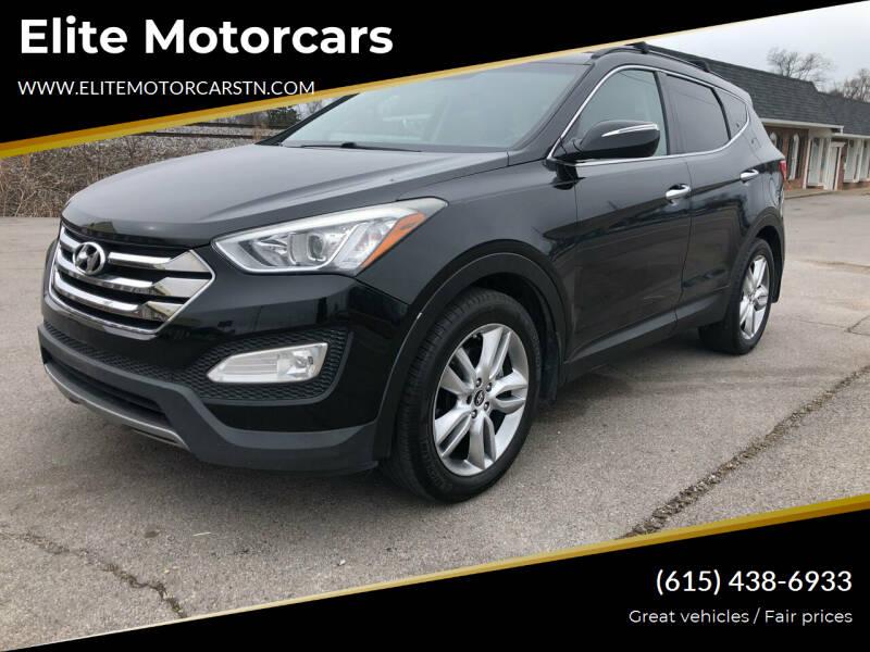 2013 Hyundai Santa Fe Sport for sale at Elite Motorcars in Smyrna TN