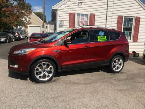 2014 Ford Escape for sale at Crown Auto Sales in Abington MA