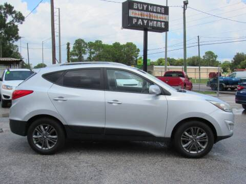 2014 Hyundai Tucson for sale at Checkered Flag Auto Sales EAST in Lakeland FL