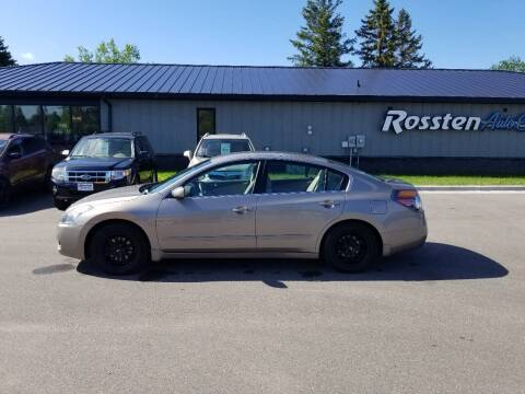 2008 Nissan Altima for sale at ROSSTEN AUTO SALES in Grand Forks ND