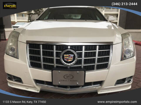2013 Cadillac CTS for sale at EMPIREIMPORTSTX.COM in Katy TX