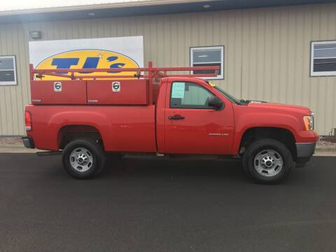 2013 GMC Sierra 2500HD for sale at TJ's Auto in Wisconsin Rapids WI