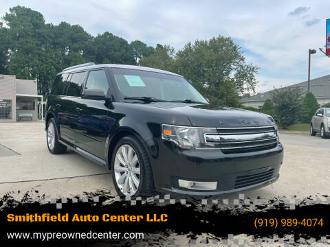 2014 Ford Flex for sale at Smithfield Auto Center LLC in Smithfield NC