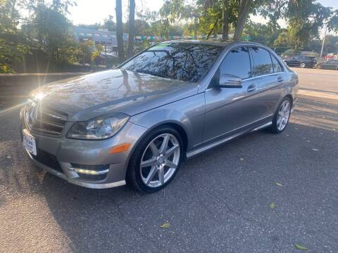 2014 Mercedes-Benz C-Class for sale at ANDONI AUTO SALES in Worcester MA