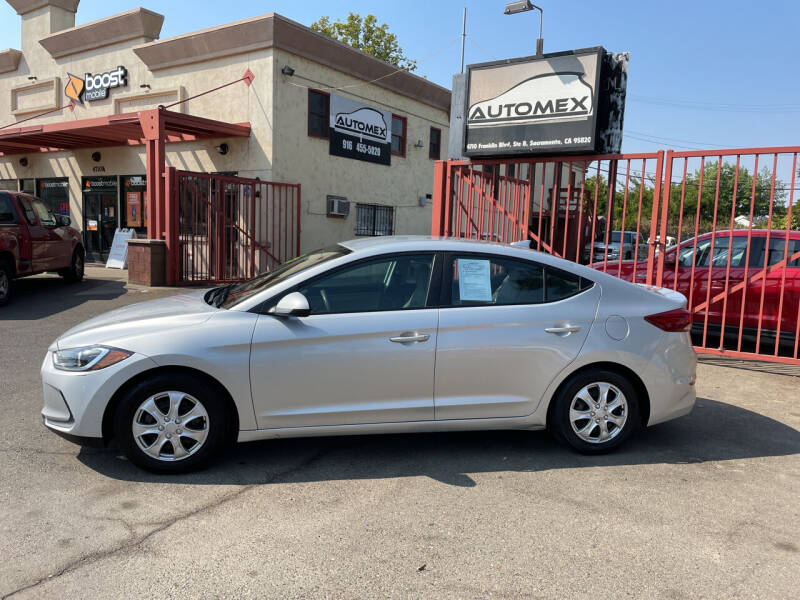 2017 Hyundai Elantra for sale at AUTOMEX in Sacramento CA