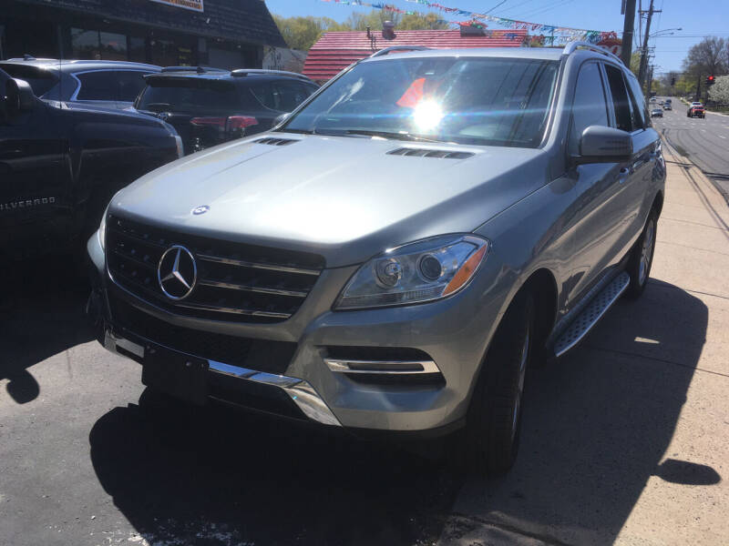 2014 Mercedes-Benz M-Class for sale at MELILLO MOTORS INC in North Haven CT