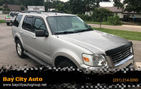 2007 Ford Explorer for sale at Bay City Auto's in Mobile AL