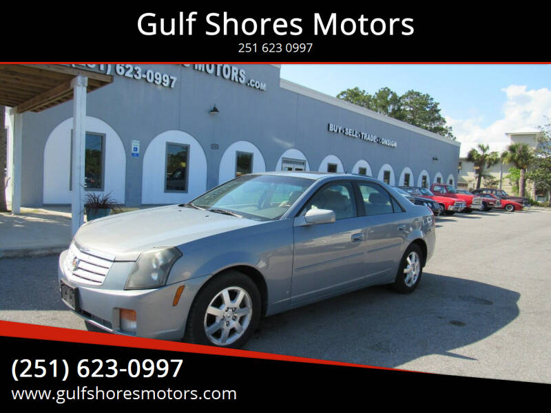 2007 Cadillac CTS for sale at Gulf Shores Motors in Gulf Shores AL