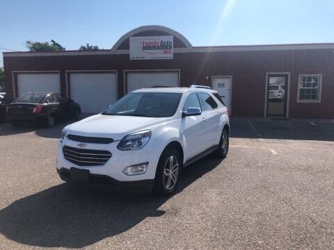 2016 Chevrolet Equinox for sale at Family Auto Finance OKC LLC in Oklahoma City OK