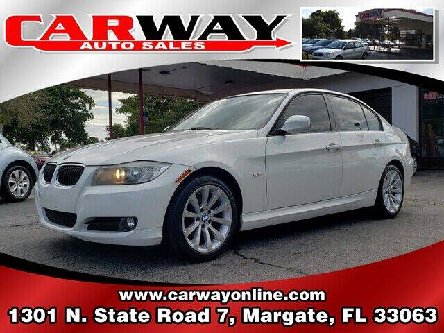 2011 BMW 3 Series for sale at CARWAY Auto Sales in Margate FL