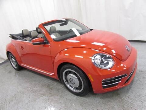 2018 Volkswagen Beetle Convertible for sale at MATTHEWS HARGREAVES CHEVROLET in Royal Oak MI