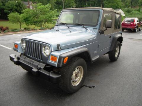 1999 Jeep Wrangler for sale at 1-2-3 AUTO SALES, LLC in Branchville NJ