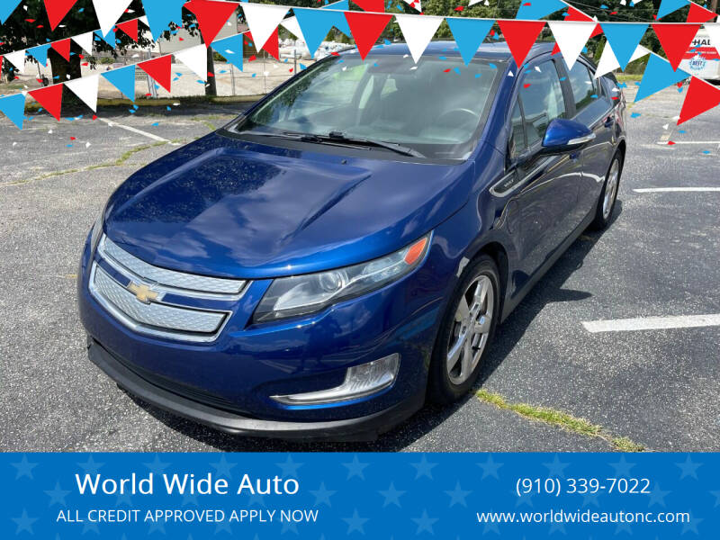 2012 Chevrolet Volt for sale at World Wide Auto in Fayetteville NC