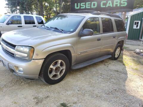 2003 Chevrolet TrailBlazer for sale at Northwoods Auto & Truck Sales in Machesney Park IL
