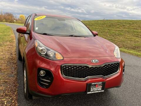 2017 Kia Sportage for sale at Mr. Car City in Brentwood MD