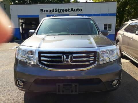 2014 Honda Pilot for sale at Broad Street Auto in Meriden CT