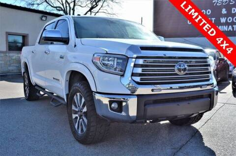 2018 Toyota Tundra for sale at LAKESIDE MOTORS, INC. in Sachse TX