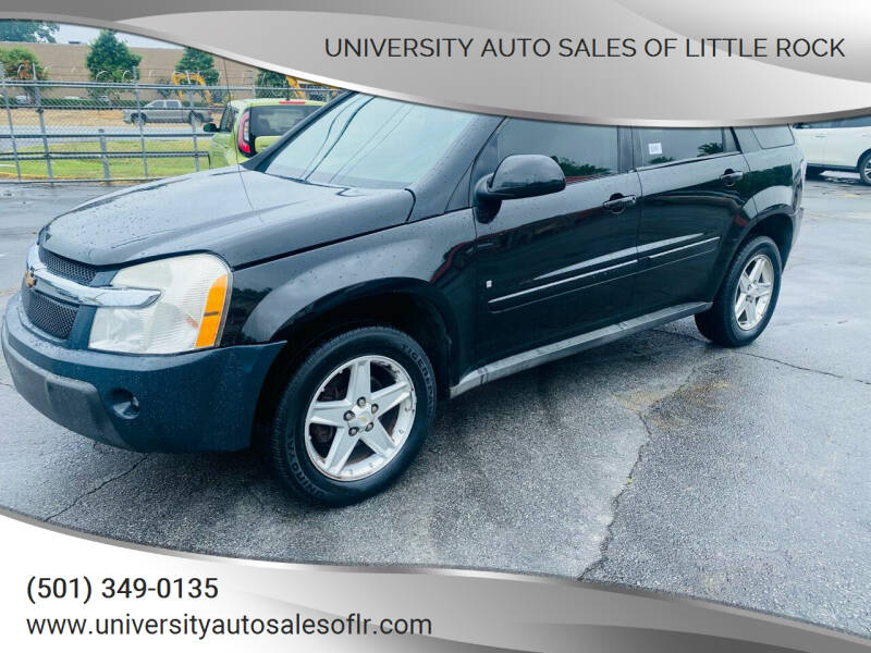 2006 Chevrolet Equinox for sale at University Auto Sales of Little Rock in Little Rock AR