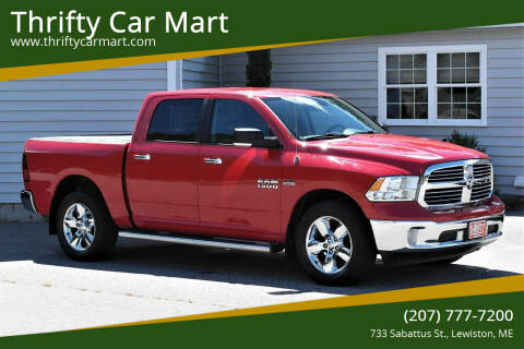 2013 RAM Ram Pickup 1500 for sale at Thrifty Car Mart in Lewiston ME