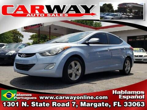 2013 Hyundai Elantra for sale at CARWAY Auto Sales in Margate FL