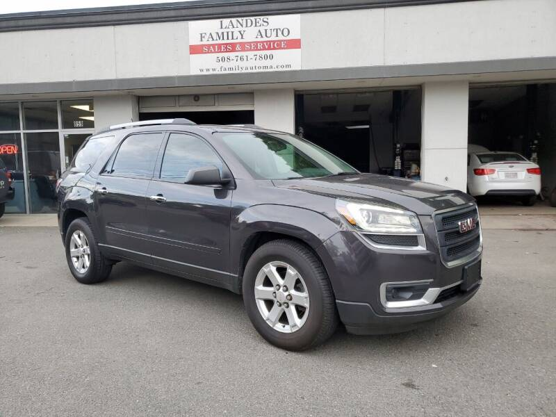 2014 GMC Acadia for sale at Landes Family Auto Sales in Attleboro MA