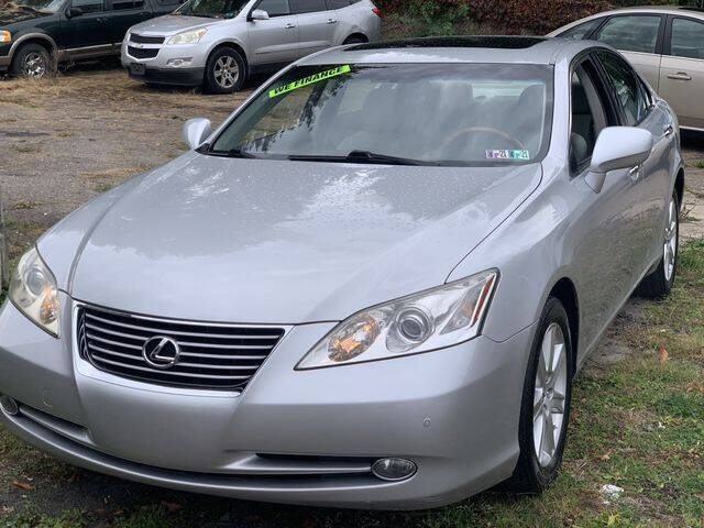 2007 Lexus ES 350 for sale at CASTLE AUTO AUCTION INC. in Scranton PA