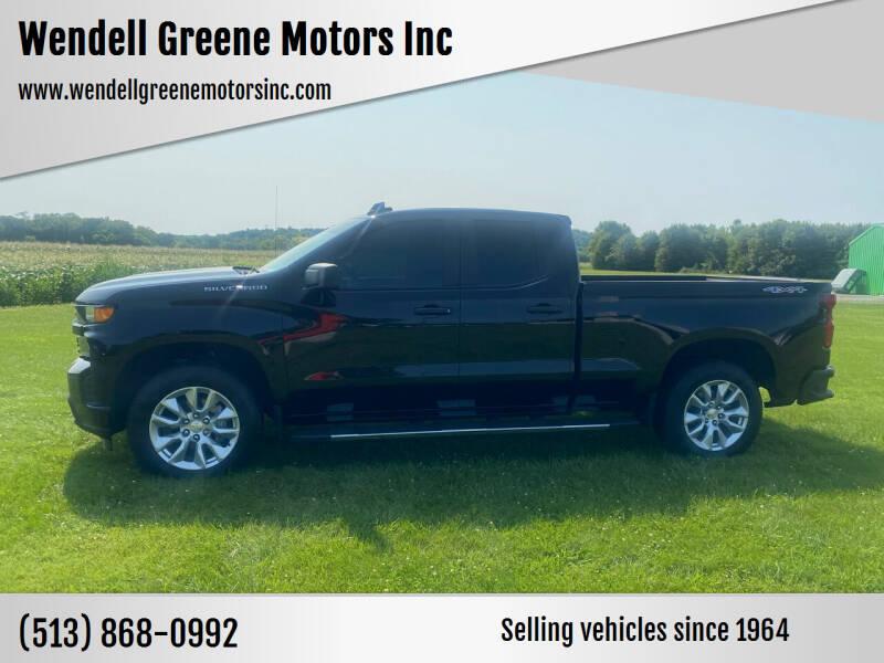2020 Chevrolet Silverado 1500 for sale at Wendell Greene Motors Inc in Hamilton OH