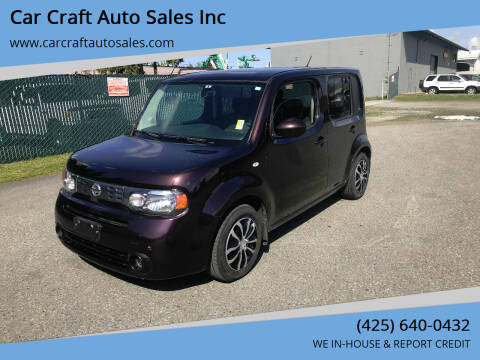 2011 Nissan cube for sale at Car Craft Auto Sales Inc in Lynnwood WA