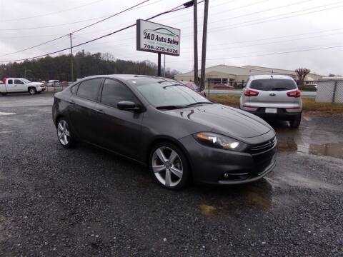 2015 Dodge Dart for sale at J & D Auto Sales in Dalton GA