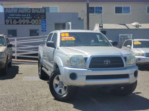 2008 Toyota Tacoma for sale at AMW Auto Sales in Sacramento CA